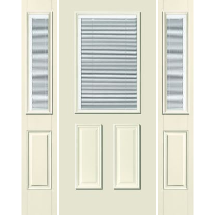 Traditional 1/2-Lite w/ Mini-Blind 2-Panel S-132 RT</