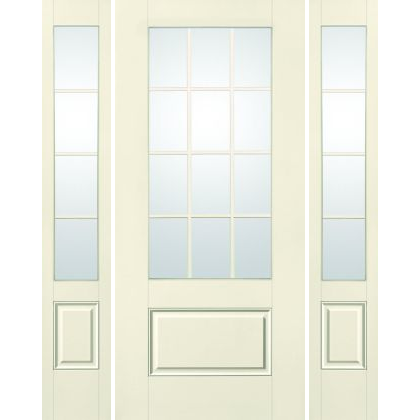 Traditional 3/4-Divided Lite 1-Panel S-2250 GBG